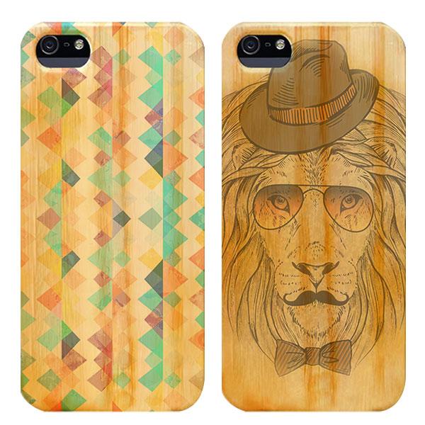 iPhone 5s Holz Handyhülle selbst gestalten