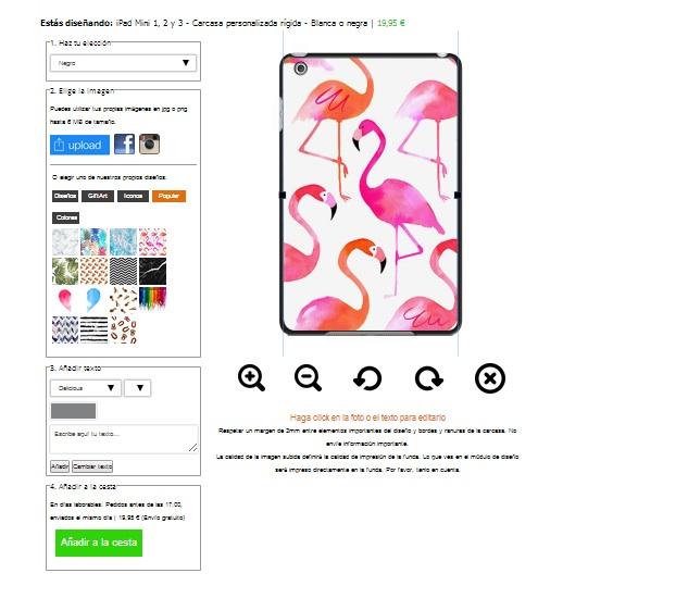 iPad  Mini Hülle gestalten