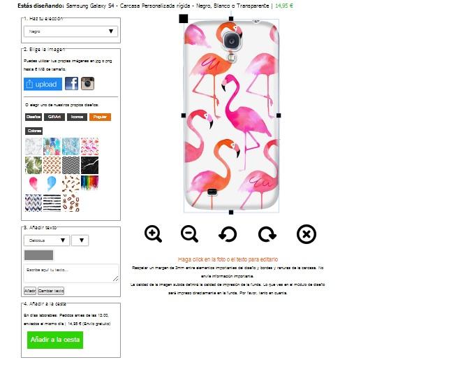 Samsung Galaxy S4 Handyhülle selbst gestalten