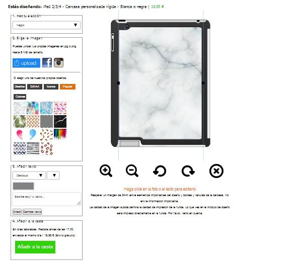 ipad 3 Hardcase mit Foto