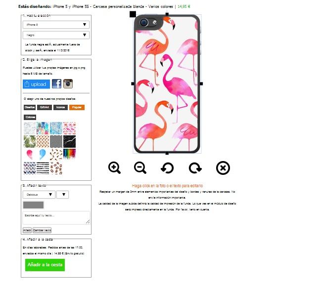 iPhone SE Softcase selbst gestalten