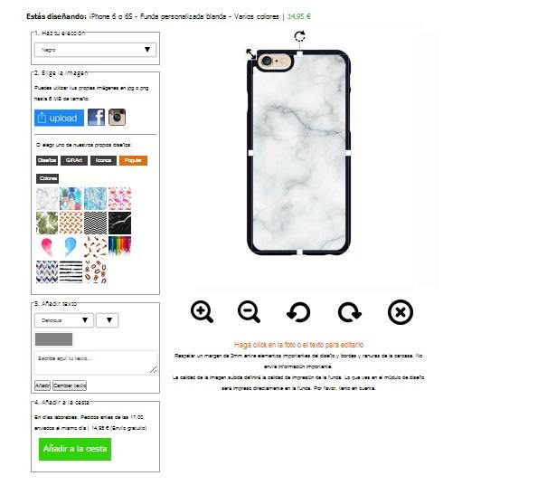 iPhone 6 Handyhüllen selbst gestalten