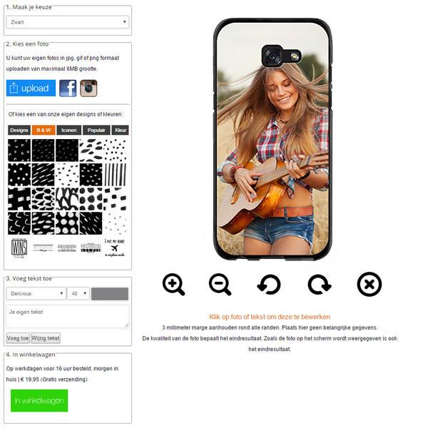 Galaxy A5 2017Handyhülle selbst gestalten