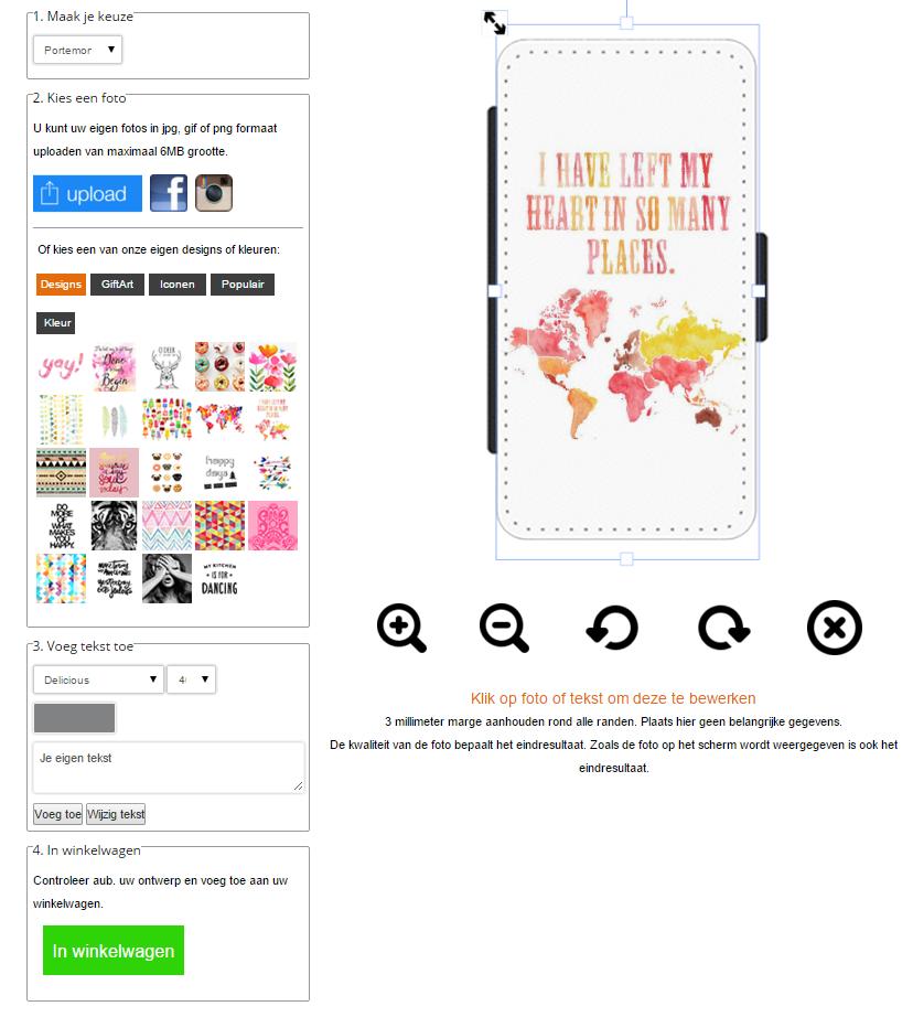 Galaxy A5 Portemonnaie selbst gestalten