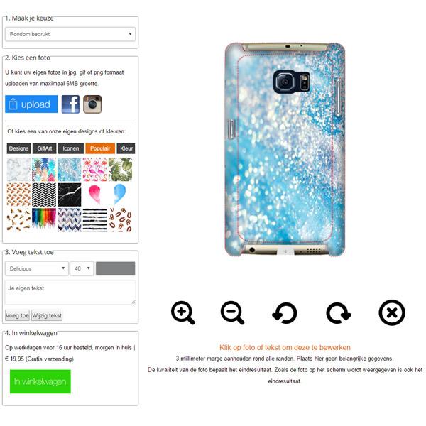 Samsung Galaxy S7 Hardcase selbst gestalten
