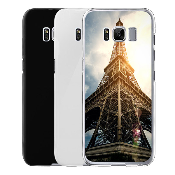 samsung galaxy s8 h lle selbst gestalten hard case mit foto. Black Bedroom Furniture Sets. Home Design Ideas