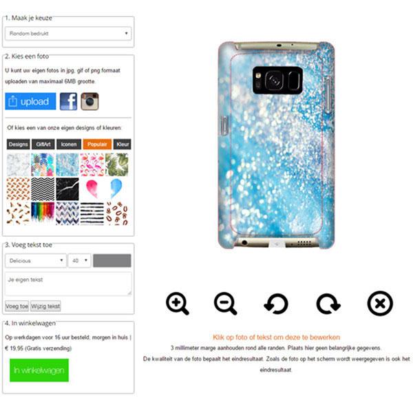 Samsung Galaxy S7 Handyhülle selbst gestalten