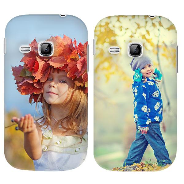 Samsung Galaxy Young Hülle selbst gestalten mit Foto