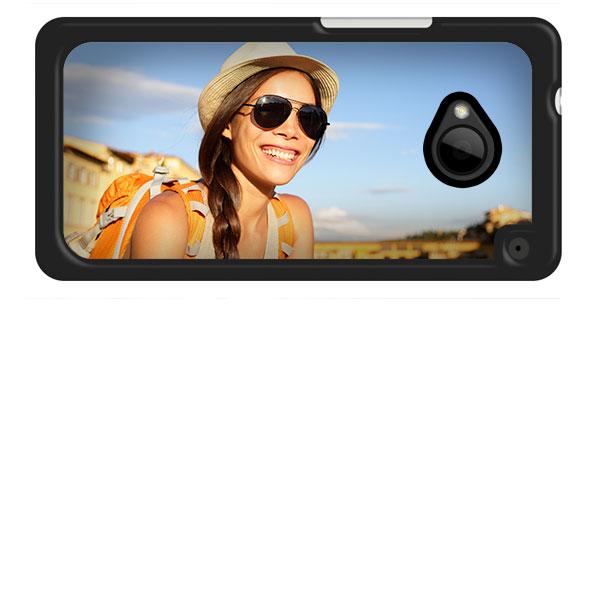 HTC One Hardcase Hülle mit Foto