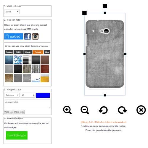 HTC One Mini 2 Hardcase