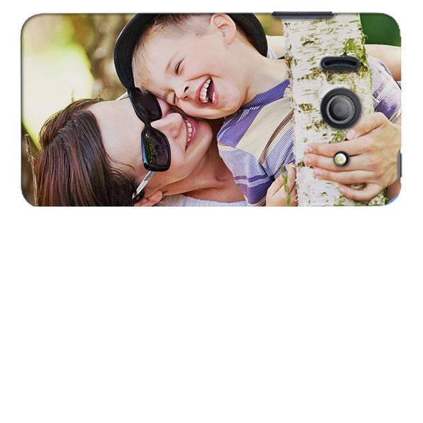 Foto auswählen und mit dem Editor spielend leicht eine Y300 Handyhülle selbst gestalten!