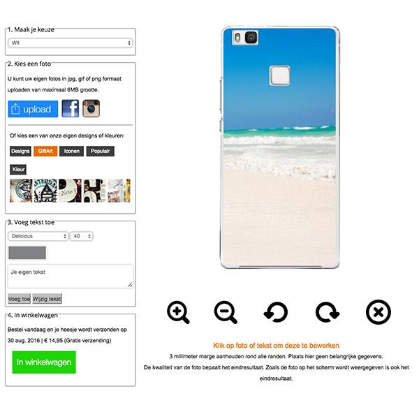 Huawei P9 Lite Hardcase Handyhülle selbst gestalten