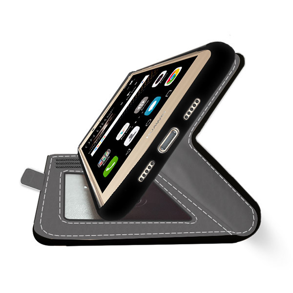 Huawei P9 Lite Portemonnaie Handyhülle selbst gestalten