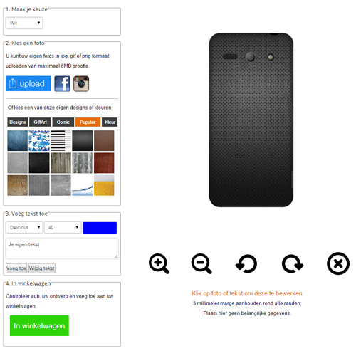 Huawei Y530 Handyhülle mit Foto