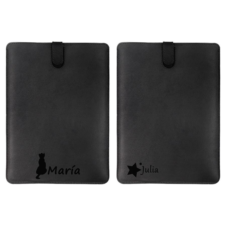 iPad Mini Hülle aus Leder selbst gestalten