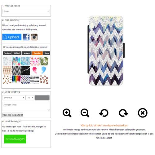iPhone SE Walletcase selbst gestalten