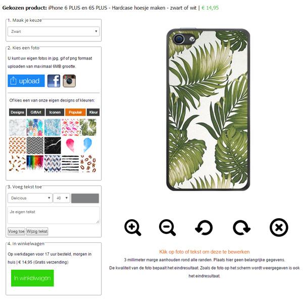 iPhone 6S+ Hardcase mit Foto