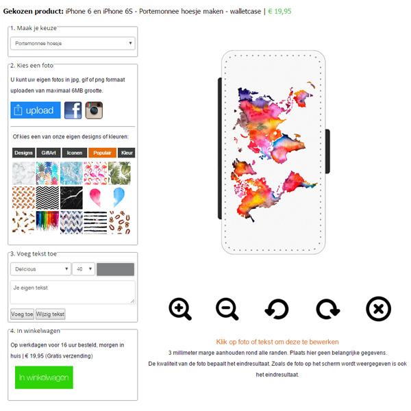 iPhone 7 Wallet Case gestalten