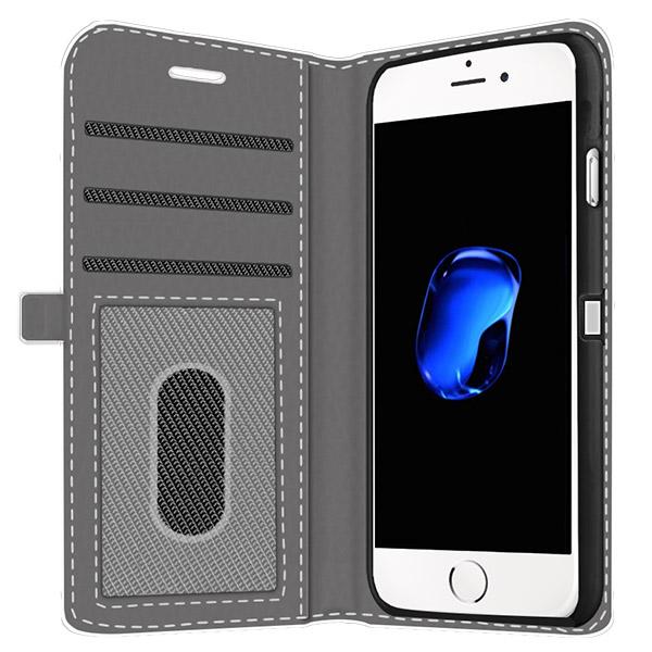iPhone  7 plus Walletcase rundum bedruckt