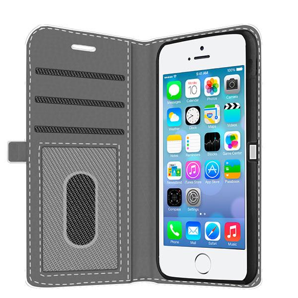 iPhone 5s Handyhülle mit Kartenschlitz selbst gestalten