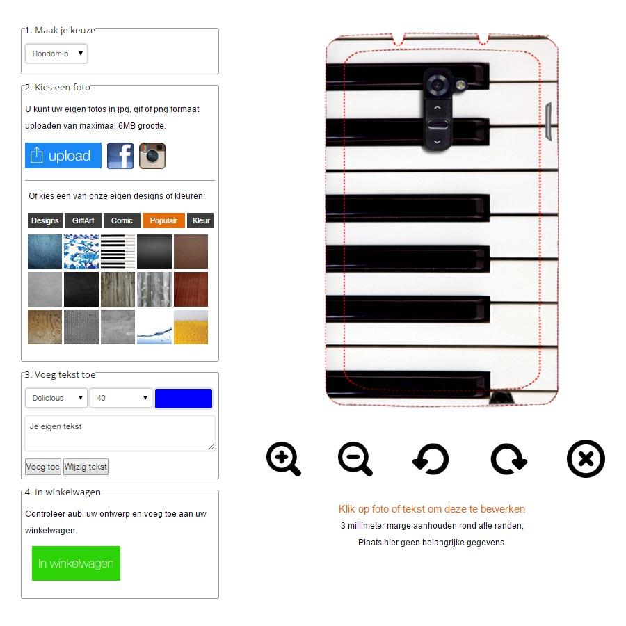 LG G3 Handy Case selbst gestalten