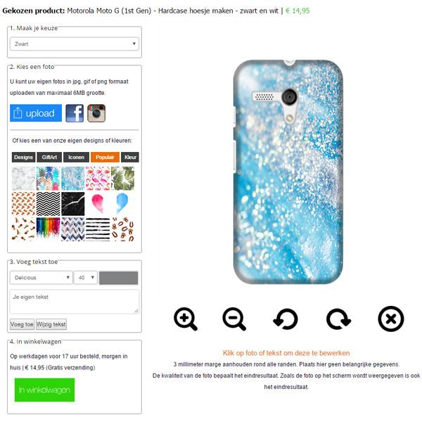 Personalisiertes Moto G Case