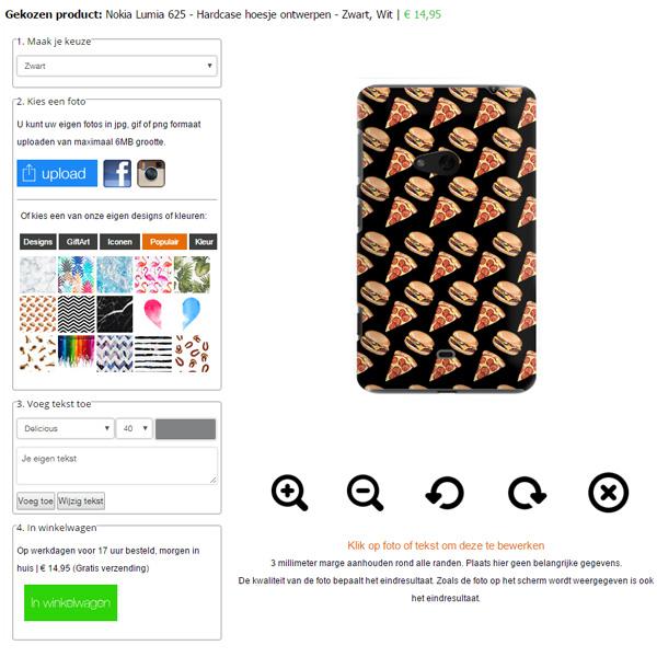 Nokia Lumia Hülle selbst gestalten
