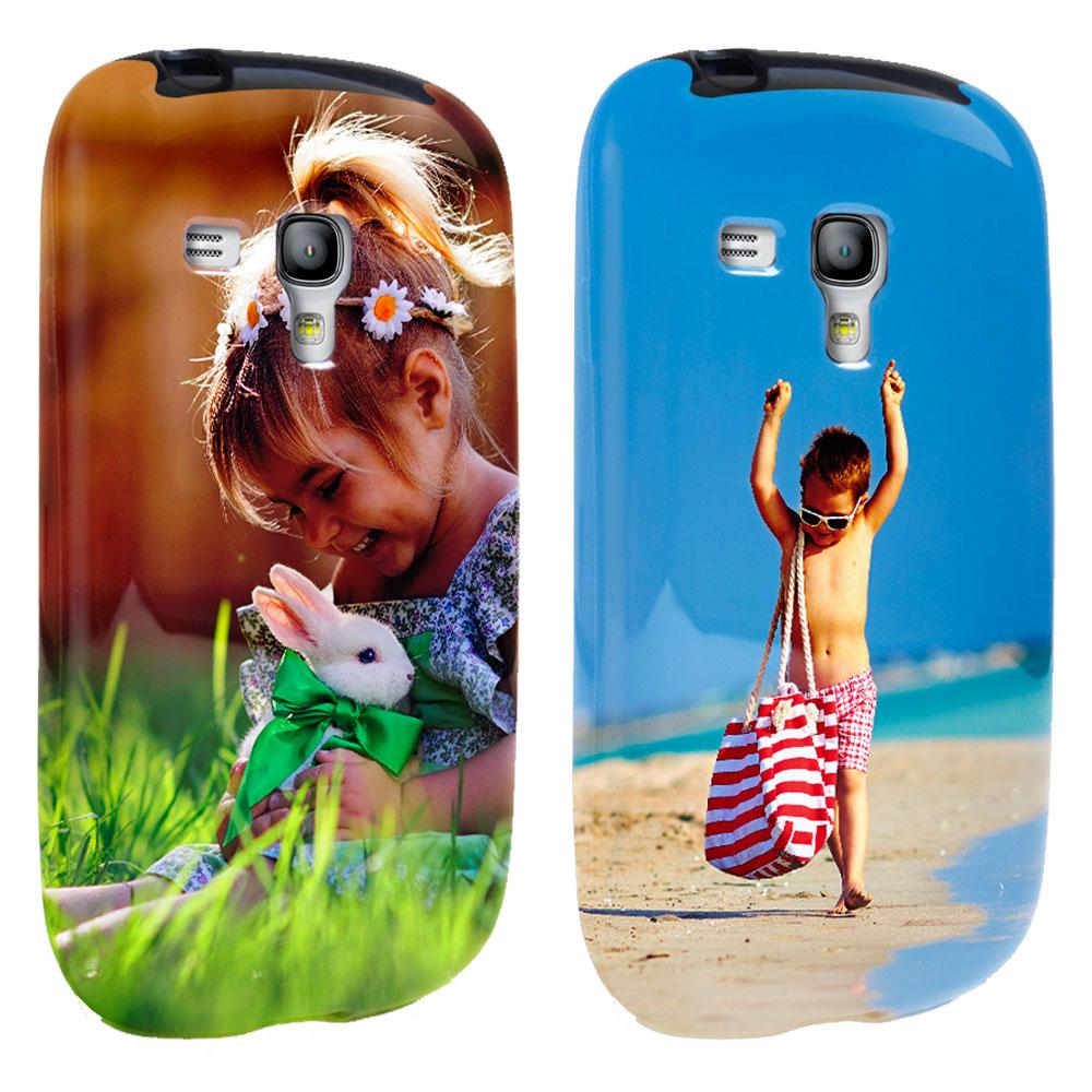 Samsung Galaxy S3 mini Hülle selbst gestalten - rundum bedruckt