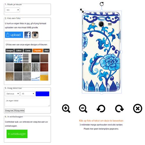 Samsung Galaxy Core 2 Hülle selbst gestalten