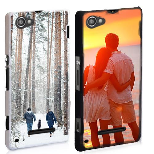 Sony Xperia M Handyhülle mit Foto schwarz oder weiß