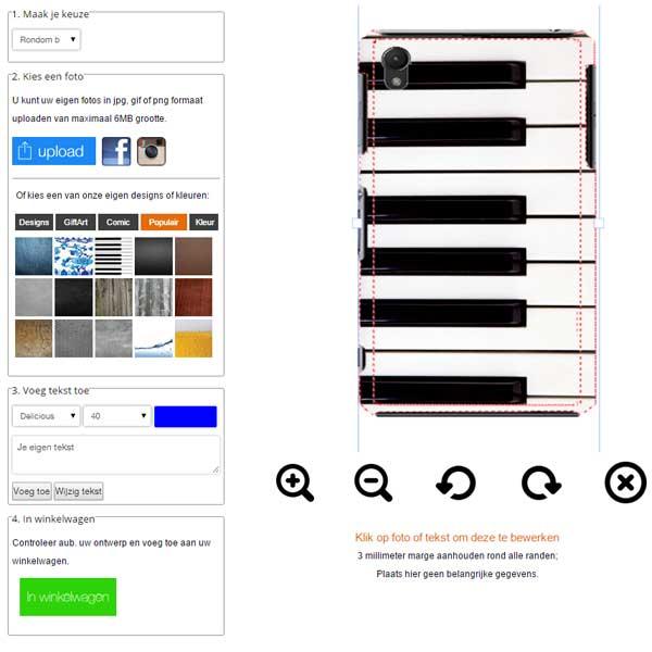 Personalisierte Sony Z3 Handyhülle (rundum bedruckt)