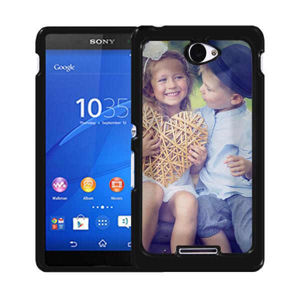 Sony Xperia E4 Hülle mit Foto