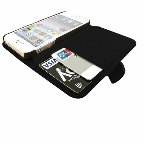 iPhone 5s Portemonnaie Handyhülle mit Kartenfach