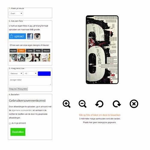 Samsung Galaxy S4 mini Handyhülle selbst gestalten